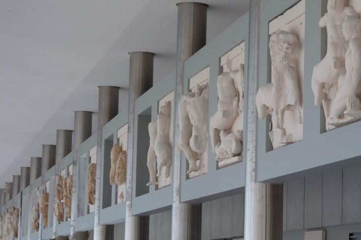 The metopes   Acropolis Museum