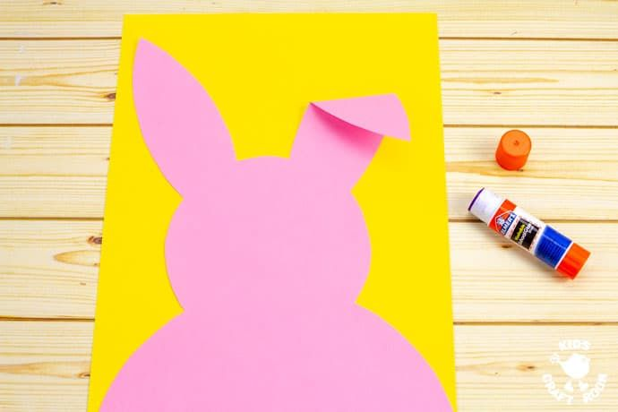 Carrot Nibbling Easter Bunny Cards Easter Bunny Template Easter Bunny Cards Easter Bunny Crafts