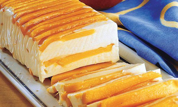 Iced Mango and Peach (recipe in portuguese)