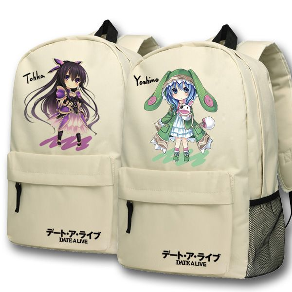 Anime DATE A LIVE Cosplay Itsuka Kotori backpack Anime cartoon campus high school primary school students bag shoulder bag backp