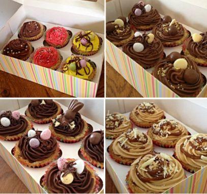 cookie cupcake  www.giantcookiecompany.wordpress.com