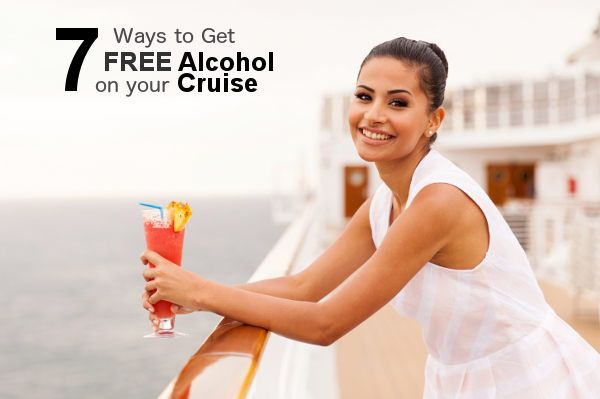 7 Ways to Get Free Alcohol on your next Cruise Vacation! Check them out here: http://blog.shipmateapp.com/drink-for-free-on-your-next-cruise-7-ways/