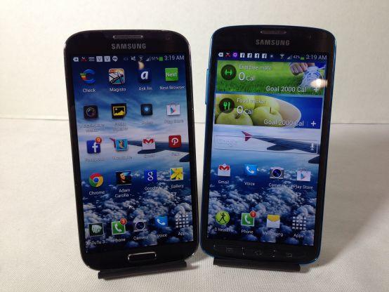 Samsung Galaxy S4 vs. Samsung Galaxy S4 Active #attmobilereview