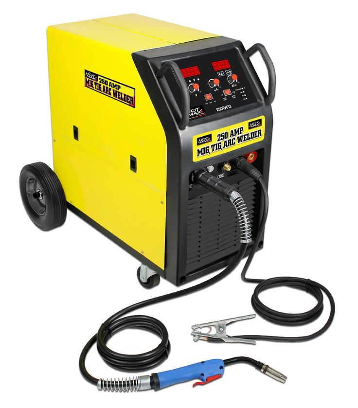 Hot Max 250WFG All-In-One 250-amp Mig/Tig/Arc Welding Machine - All Items In Tools And Home Improvement Category Today Interest