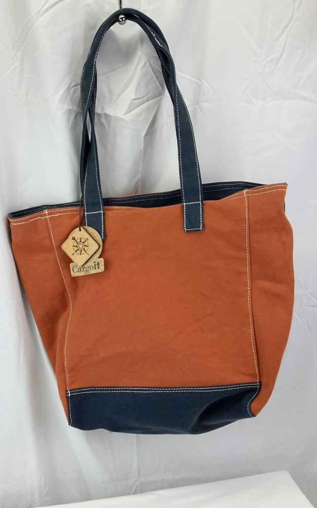 0a3be225d8 Made from heavy duty durable cotton canvas. Zip top Closure. Great gift  idea for your friends and family. Double carrying handles. Handle drop   approx.