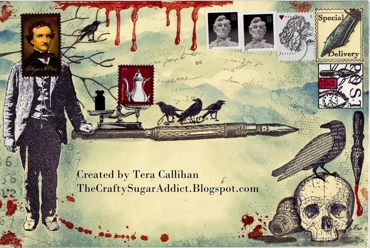 * The Crafty Sugar Addict *: Mail Art Crazy