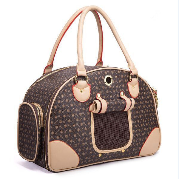 Classic Leather Pet Carrier