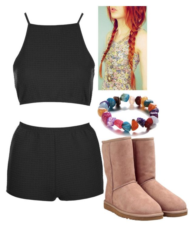 """Untitled #2668"" by strangerthanfanfiction713 on Polyvore featuring Topshop and UGG Australia"