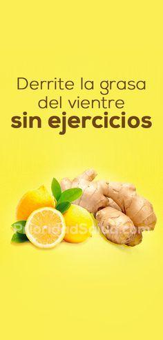 Prepara esto para eliminar la grasa abdominal sin ejercicios.
