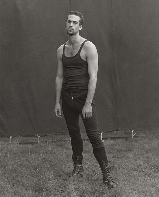 Joseph Fiennes photographed by Herb Ritts, 1998.