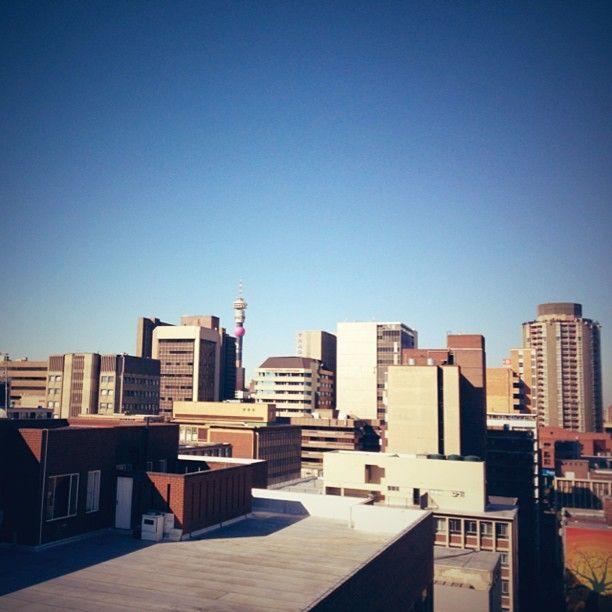 View from 73 Juta, Johannesburg