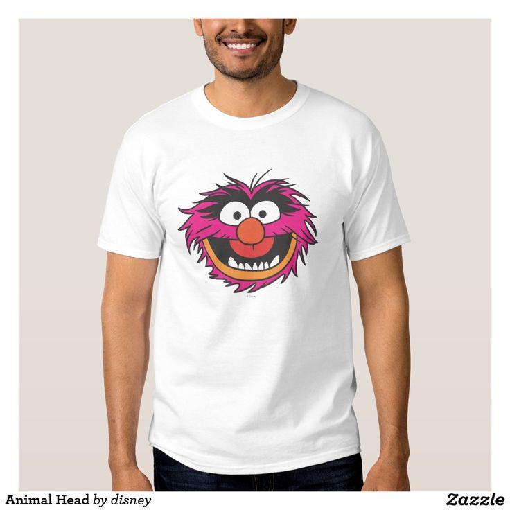 The muppets - Cabeza animal playera. Producto disponible en tienda Zazzle. Vestuario, moda. Product available in Zazzle store. Fashion wardrobe. Regalos, Gifts. Link to product: http://www.zazzle.com/cabeza_animal_playera-235535806698723845?lang=es&design.areas=[zazzle_shirt_10x12_front]&CMPN=shareicon&social=true&rf=238167879144476949 #camiseta #tshirt