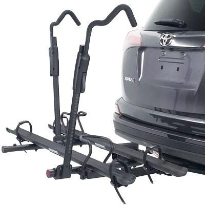 "Hollywood HR3500 TRE SE Hitch Car Rack Tire Retention System 2"" Holds 2 Bikes"