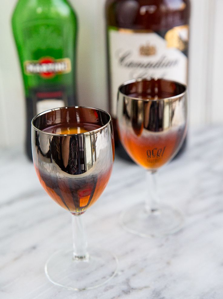 Get the perfect Classic Manhattan Recipe, this whisky and vermouth based, sweet drink is great for sipping.