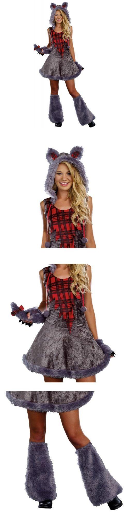 Girls 80914: Werewolf Costume Teen Big Bad Wolf Girls Halloween Fancy Dress -> BUY IT NOW ONLY: $31.09 on eBay!