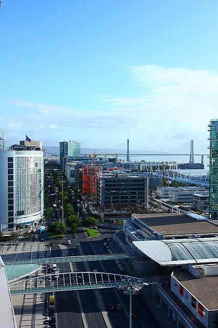 Brand new city ... Parque das Nações