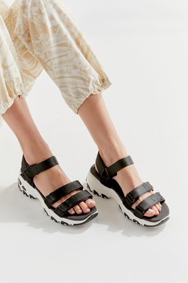 Skechers D'Lites Fresh Catch Sandal | Skechers, Skechers d