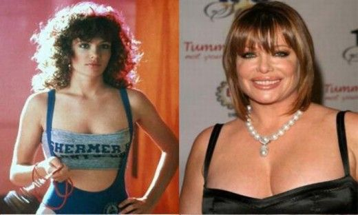 Kelly LeBrock - too many burgers