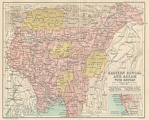India History - The decision to effect the Partition of Bengal was announced in July 1905 by the Viceroy of India, Lord Curzon. The partition took effect in October 1905 and separated the largely Muslim eastern areas from the largely Hindu western areas.