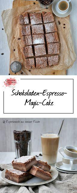 Schokoladen-Espresso-Magic-Cake | Rezept | Backen | Kuchen