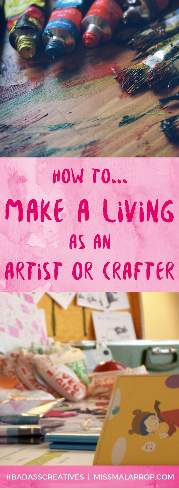 I often get asked for my advice on how to make a living as an artist or crafter! In this post, I'm sharing TONS of tips, tricks and advice for creatives.