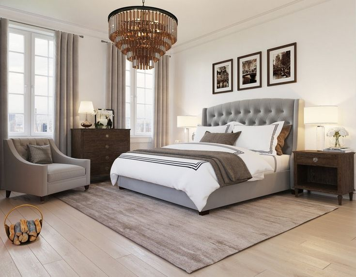 Super-Relaxing & Stylish Bedroom Home design in Beige & Grey - http://www.interiordesign2014.com/architecture/super-relaxing-stylish-bedroom-home-design-in-beige-grey/