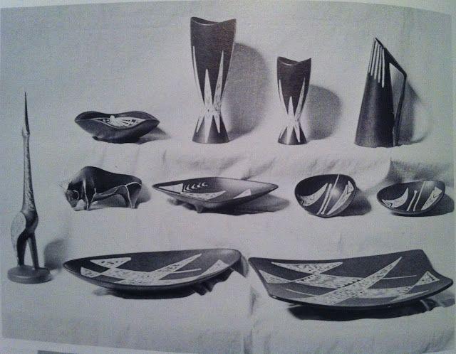 50-tals keramik: Søholm Burgundia Series