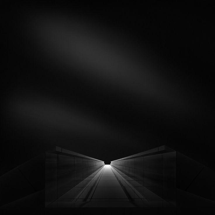 Ode to Black (Black Hope) IV - Shadow Black by Julia Anna Gospodarou -  London, UK