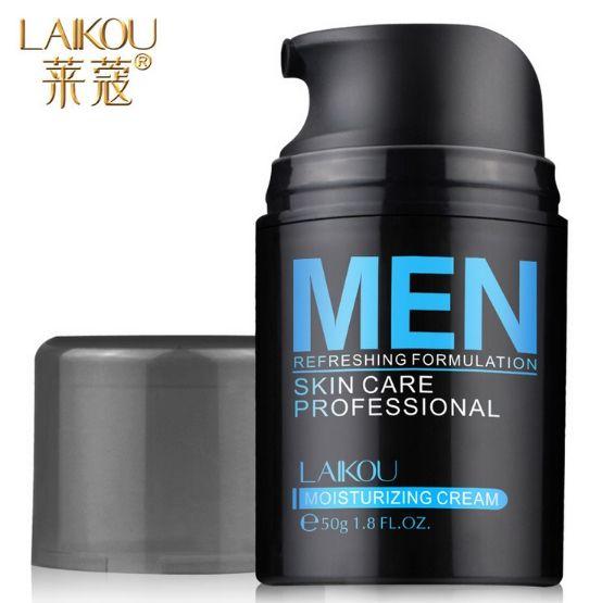 Uomo Cura Della Pelle Crema Lozione Per Il Viso Moisturzing Cream50g Equilibrio Olio Illuminare Pori Uomini Viso
