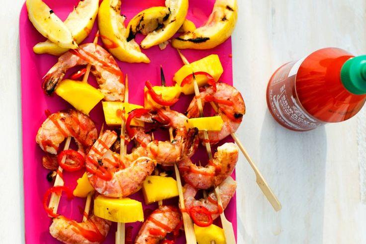 Vis en fruit: een bijzondere combinatie, maar lékker dat het is! - Recept - Allerhande