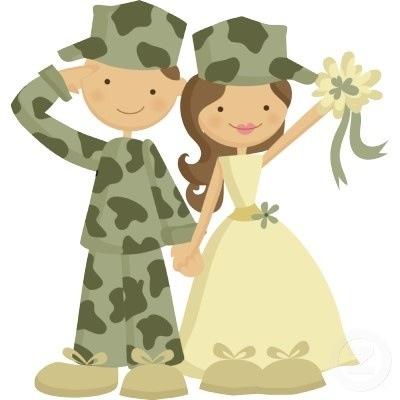 ideas para un matrimonio al estilo militar