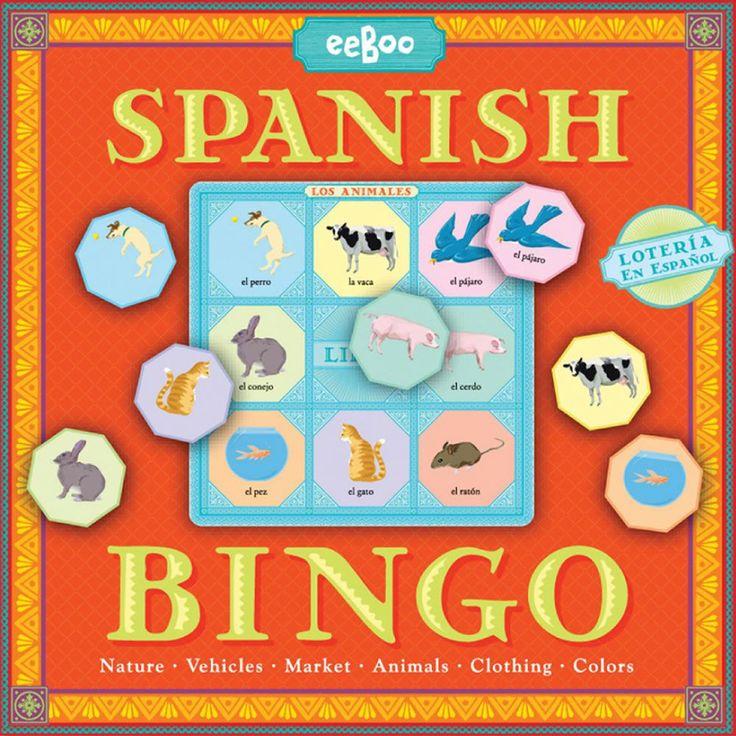 Spanish Bingo Game