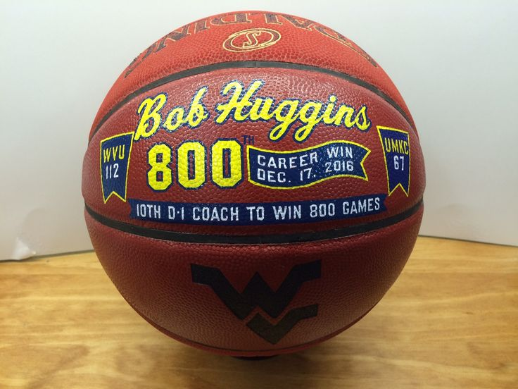 West Virginia basketball coach is honored with his 800th win game ball. Visit http://sochasigns.com to begin personalizing your one-of-a-kind sports memento.