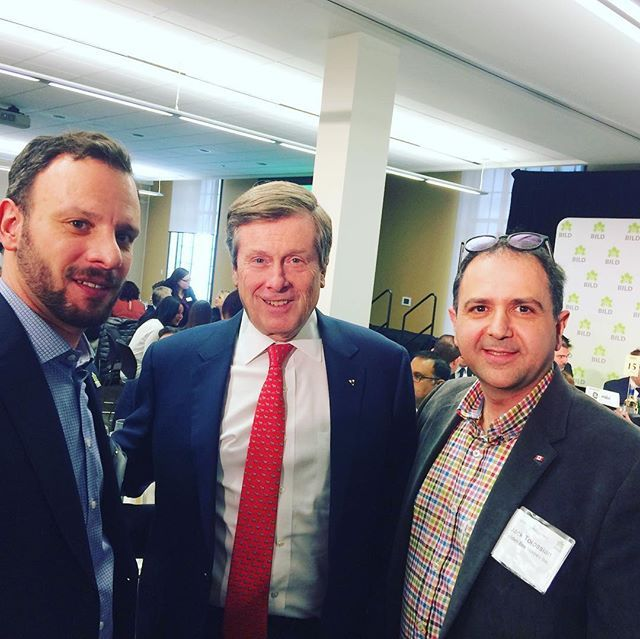 Great event today at @bildgta 20th annual Industry Luncheon featuring our keynote guest @mayorjohntory and the #renovator and #custom #builder awards. Thank you mayor for addressing the same issues we all feel passionate about. Hiding for all at a cost that all can afford. Now lets get those issues you mentioned within the city bureaucratic structure addressed. #build #renovate #reno #dreamhome #construction #torontolife #toronto #politics #election #torontopolitics #torontoelectricians…