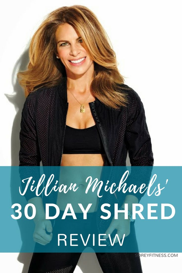 Jillian Michaels 30 Day Shred workouts and losing weight Review. Learn more about the workouts, calories burned, and meal plan.