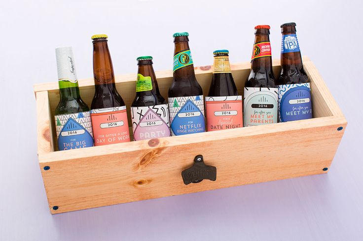 This Beer Box Is the Perfect Valentine's Day Gift for Him via Brit + Co