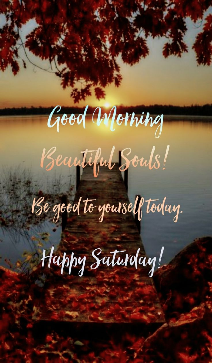 Good Morning! Happy Saturday! #goodmorning #mormingmeme #morning #gm #gmw #happysaturday #saturdays #saturday #saturdaymorning #theweekend #weekends #weekend #autumn #autumn #fall #souls #beauty #beautiful #be #good #goodmorningpost #yourself #september #leaves #fallleaves #sunrise #riseup #wakeup #sun #flowers