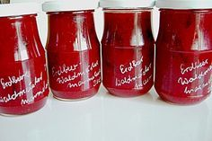 Erdbeer - Waldmeister - Marmelade (Rezept mit Bild) | Chefkoch.de