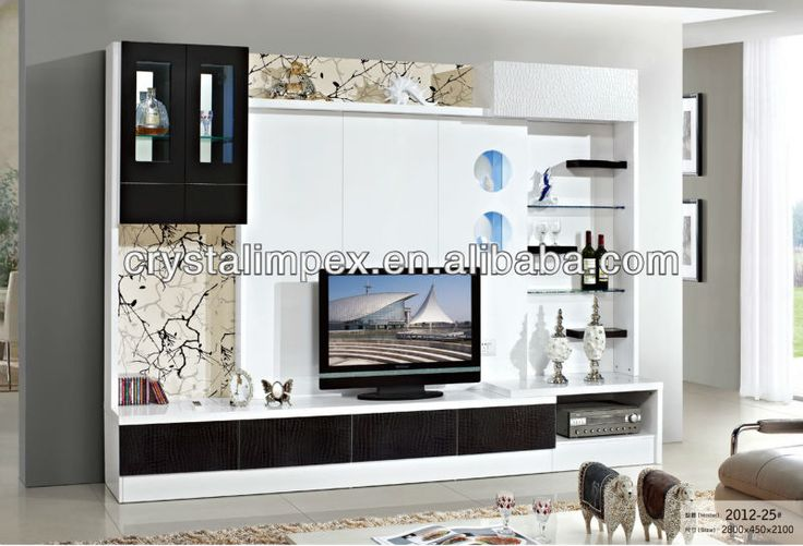 Led Stand Designs : Lcd tv wall unit designs led stand furniture