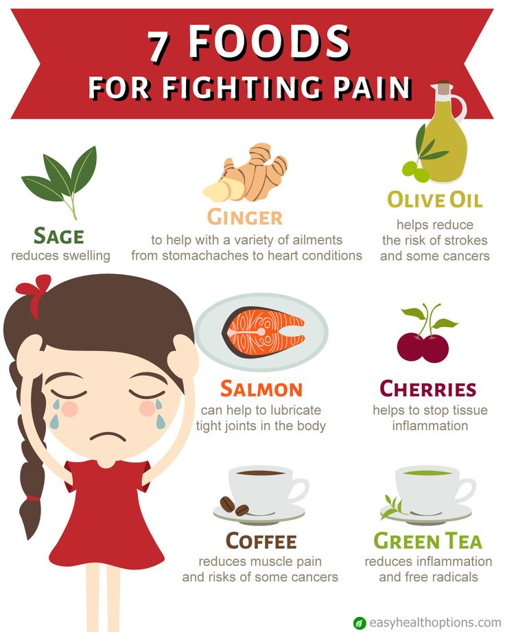 Go natural for pain control.