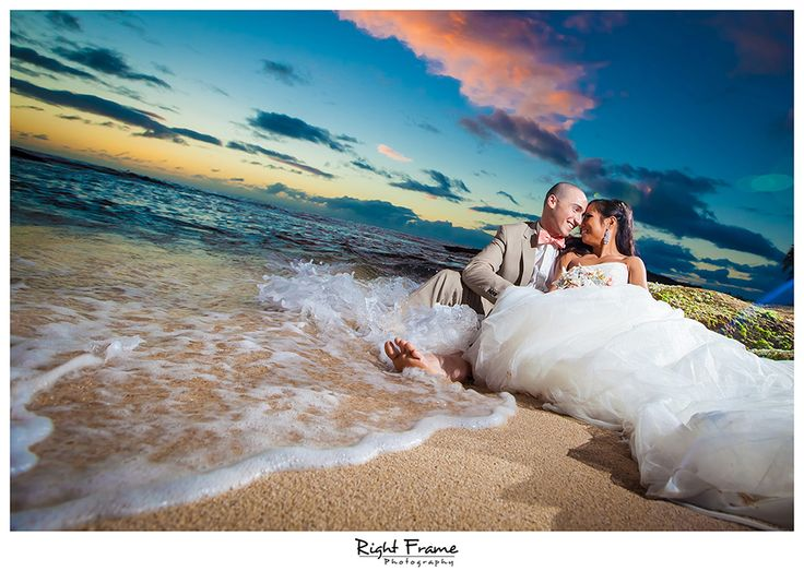 www.rightframe.net - Oahu Trash The Dress, beach, hawaii, wedding, photography, photographer, weddings, photos, bride, groom, hawaiian, ko olina, ko'olina, koolina, secret beach , ihilani, Lanikuhonua Beach, JW Marriott Ihilani hotel, Sunset, sun, romantic, ideas, pictures, paradise, cove, waikiki, north, shore, fun.