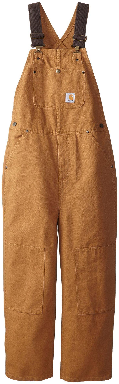 Amazon.com: Carhartt Big Boys' Washed Duck Bib Overall: Carhartt Bibs Kids: Clothing