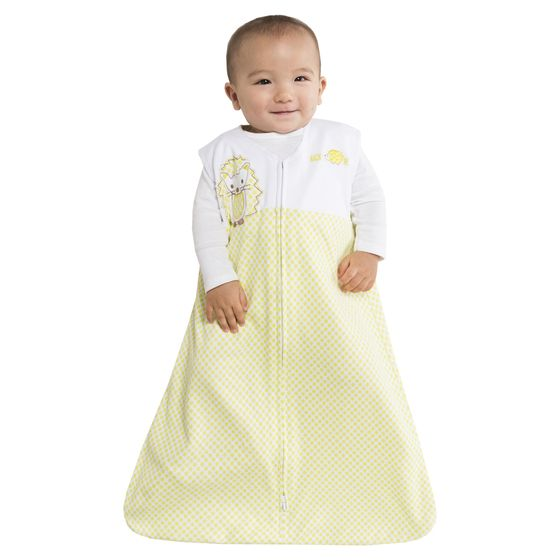 The 100% Cotton SleepSack Wearable Blanket from HALO keeps baby sleeping safe and sound.