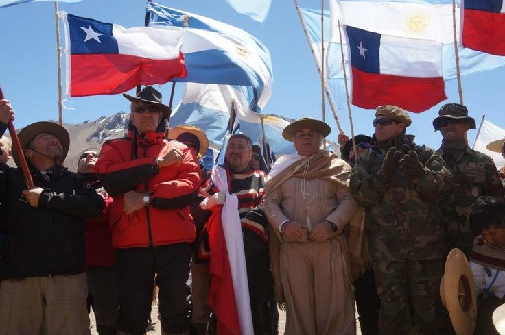 Cruce de Los Andes 2013. Evocando la gesta de San Martín