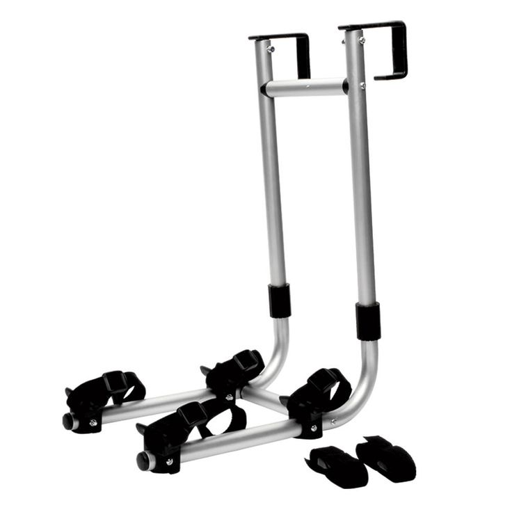 Carry two bikes on your roof access ladder, freeing your hitch for towing or other accessories.