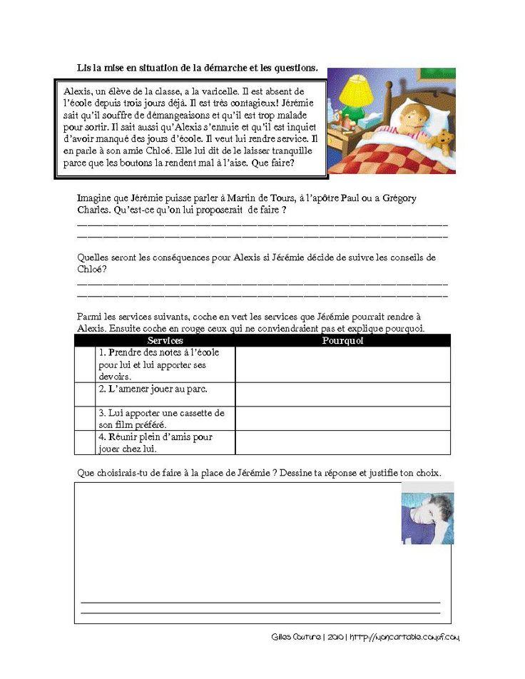 Mon cartable - Site de partage de ressources entre enseignants du préscolaire et du primaire - www.moncartable.ca - Éthique et culture religieuse