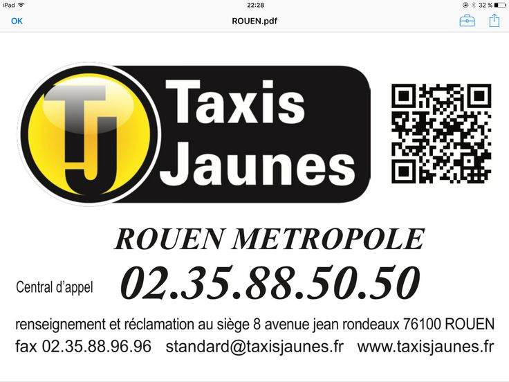 Taxi place Hôtel de Ville rouen