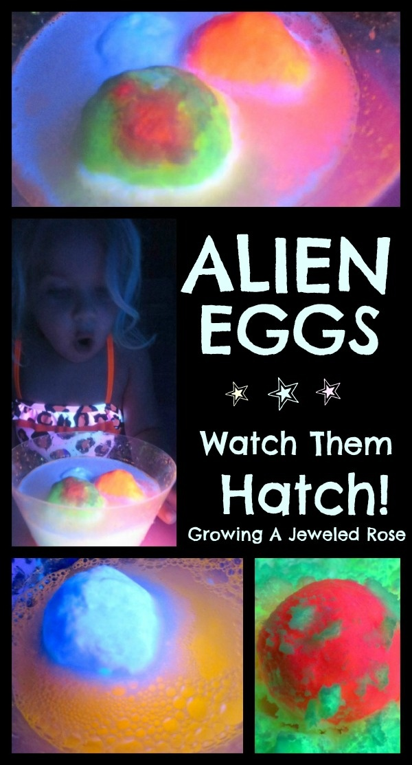 Alien eggs & other fun space activities for kids!