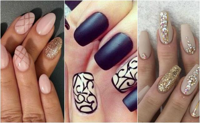 Wzory na paznokcie żelowe - Galeria TOP inspiracji #paznokcieżelowe #paznokcie #pazurki #pazurkiżelowe #żelowe