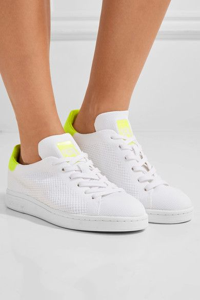 adidas stan smith primeknit all white white adidas stan smith sneakers for women
